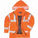 Portwest Rt60 Rail Industry Hi-Vis Breathable Jacket Medium