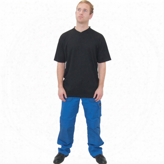 Tuffsafe Function V Neck Black T-shirt - Size M