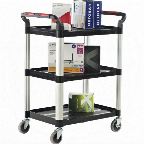 Workshop Proplaz 990x515x1010mm Trolley 3 Shelf