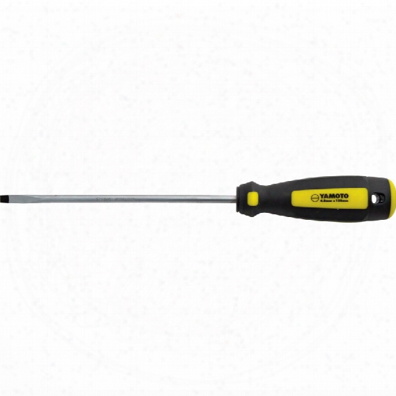 Yamoto 5x150mm Flat Parallel Tri-line Screwdriver
