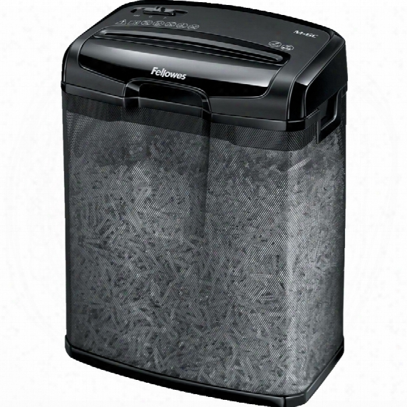 Fellowes M-6c Cross Cut Personal Shredder
