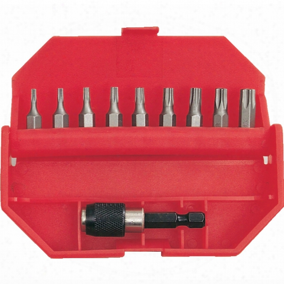 Kennedy 10-pce Torx Tamper-proof Bit Set