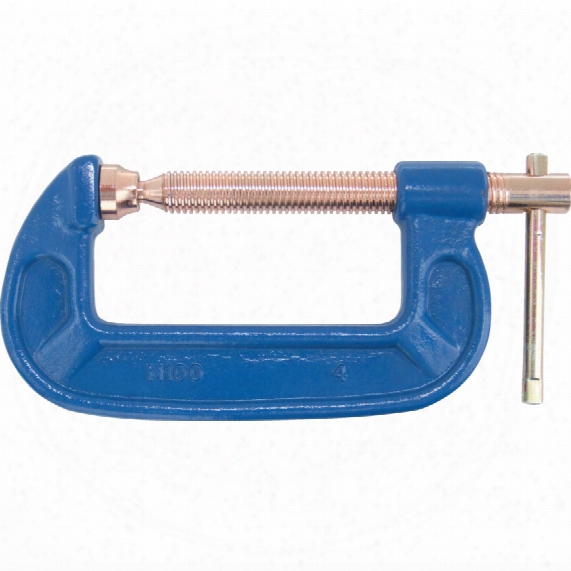 "Kennedy 10"" Extra Heavy Duty ""g"" Clamp With Copper Screw"
