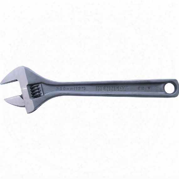 "Kennedy 300mm/12"" Phosphate Finish Adjustable Wrench"