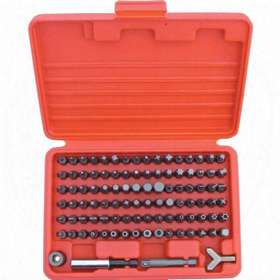 "Kennedy Master Screwdriver Bit Set 1/4""x25mm 100-pce"