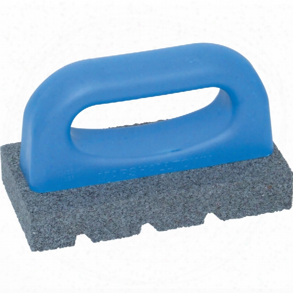 Marshalltown M/t840 Abrasive Rubbing Brick Plastic Handle