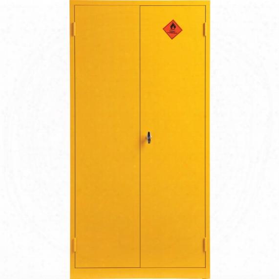 Matlock 1830x915x459mm Flammable Storage Cabinet Yellow
