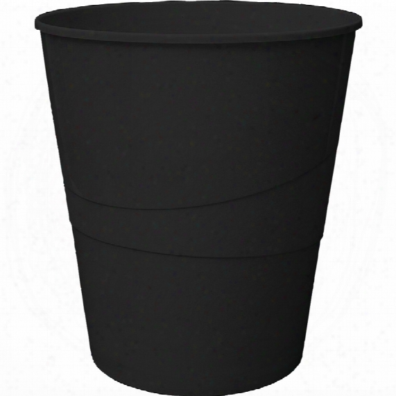 Offis 14ltr Waste Bin Black