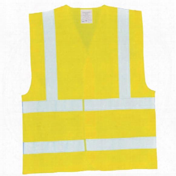Portwest Fr71 Flame Resist Hi-vis Anti-static Vest Yellow 2xl/3xl