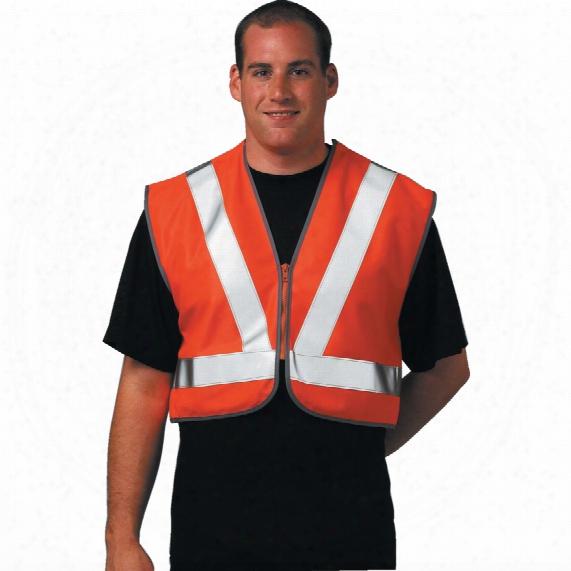 Portwest Rt21 Rail Industry Hi-vis Short Vest Xl