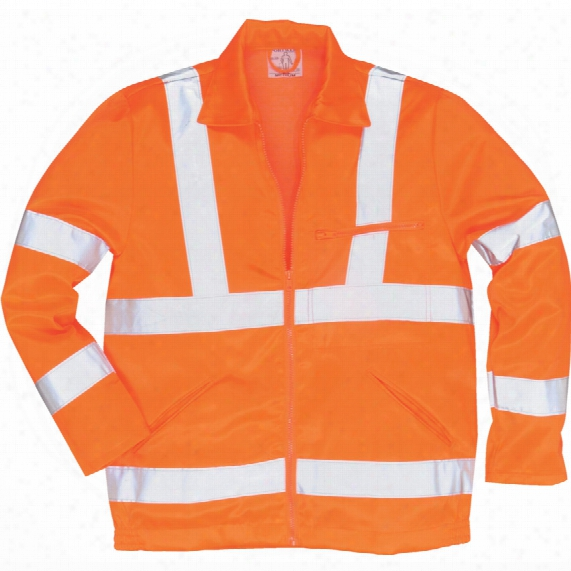 Portwest Rt40 Rail Industry Hi-vis Work Wear Jacket 2xl