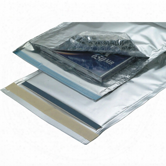 Post Safe Silver Protective Envelope C4 220x330mm (pk-100)