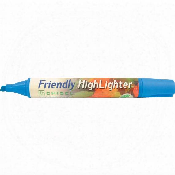 Rosinco Blue Eco Friendly Highlighter Pen (pk-10)