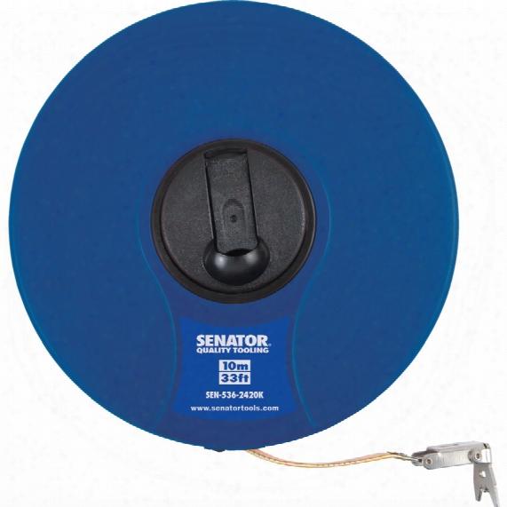 Senator 10m/33' Fibreglass Measuring Tape
