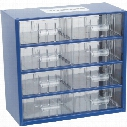 Senator 8 Drawer Small Parts Storage Cabinet