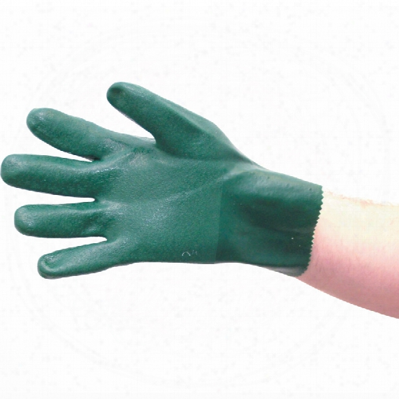 Tuffsafe Green Gloves - Size 10
