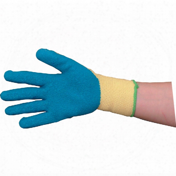 Tuffsafe Tuffgrip Cat2 Blue Kevlar Lined Latex Gloves Sz.8