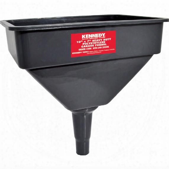 """Kennedy 10""""x7"""" H/d Polyethylene Garage Funnel"""
