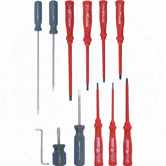 Kennedy Vde & Engineers Screwdriver Set 12-pce