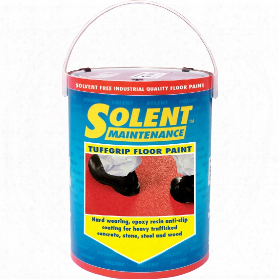 Solent Maintenance Tuffgrip A/slip Floor Paint 5m Sq Mid Grey
