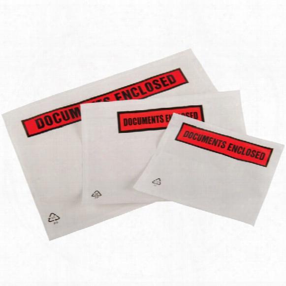 Tenzalopes A6 Plain Packing List Envelopes (box-250)