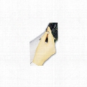 Polyco Lpf100/03 Finex Pf Yellow Latex Disposable Gloves - Size L
