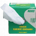 Solent Cleaning Engineers White Wipes 27X36Cm (Box-250)