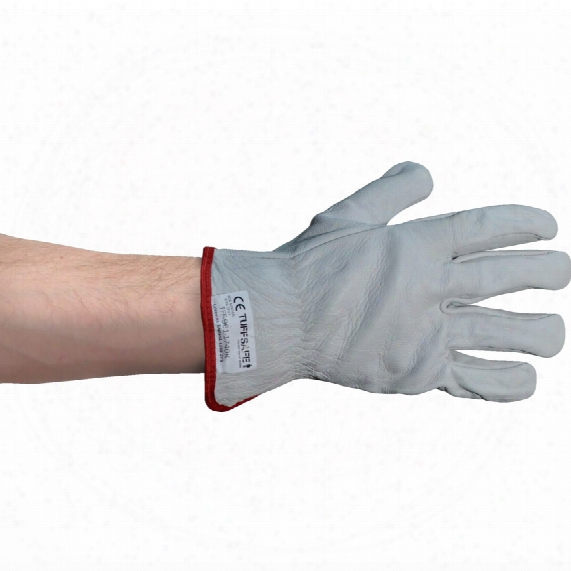 Tuffsafe Grey Unlined Rigger/drivers Gloves Size 10