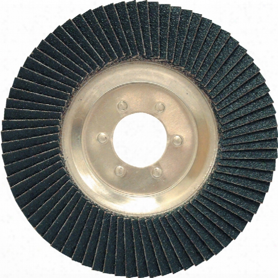 York 100x16mm Alum/back Zirc Flap Disc P36