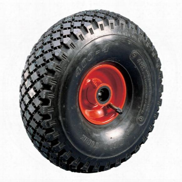Atlas Workholders Pneumatic Tyre Steel Ctr260mm-20mmb Wheel R/brg