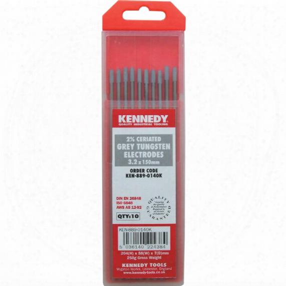 Kennedy 1.6mm Ceriated Grey Tungsten Electrode