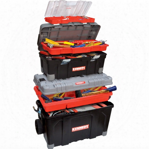 Kennedy 2-in-1 Rolling Tool Box