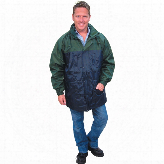 Kennedy Green/navy 3-in-1 Coat - Size S