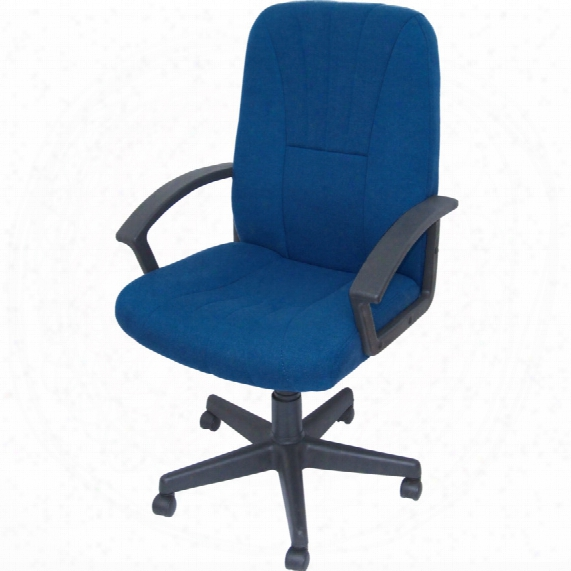 Lincoln Managers Chair Royal Blue Fabric