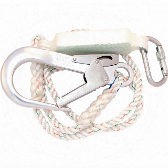 Miller By Honeywell 1008281 Titan C3 Shock Absorbing Rope Lanyard 2.0m