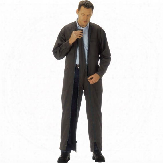 Portwest S815 Zippy Coverall Navy (l)