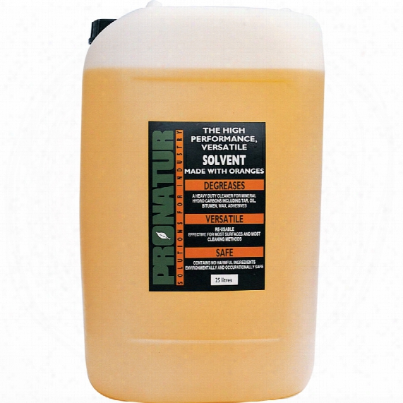 Pronatur Orange Solvent Drum 25ltr