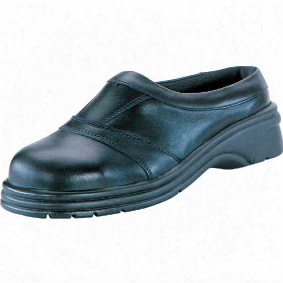 Psf Ladies 330 Ladies Black Slip-on Safety Clogs - Size 4
