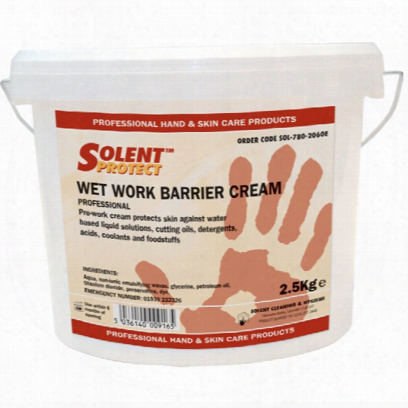 Solent Cleaning Barrier Cream Wetwork 2.5 Kg