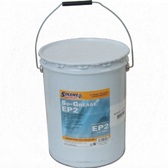 Solent Lubricants Plus Ep2 High Load Lithium Grease 5kg
