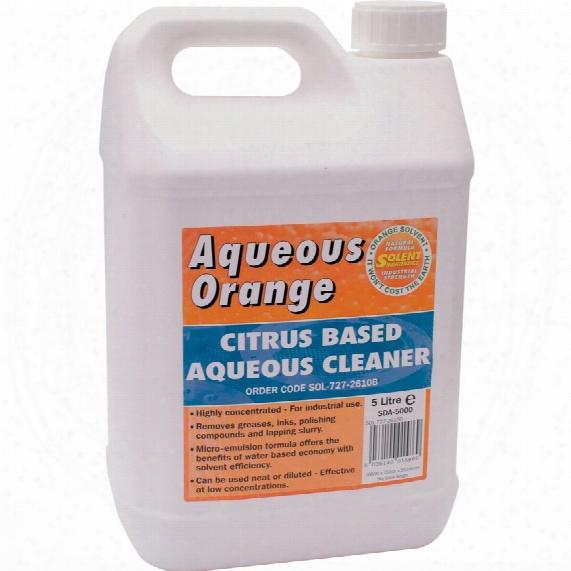 Solent Maintenance Aqueous Orange Citrus Based Cleaner 20ltr