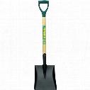 Rutland Contrators Tools C/S Square Shovel Hardwood Shaft