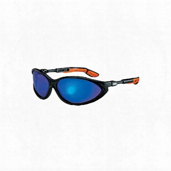 Uvex 9188-881 Cybric Bk/org Op Tidur 3000 Gry/bl Glasses
