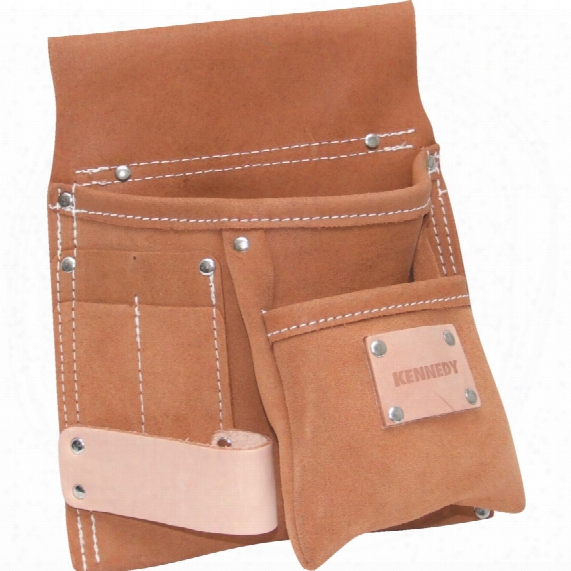 Kennedy 5-pocket 1-loop Small Tool & Nail Pouch