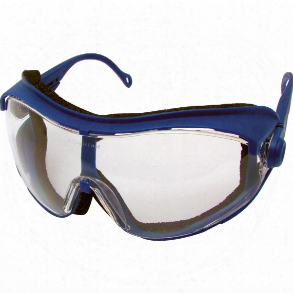 Kennedy Cobra Blue Specs Clear Lens Impact/anti-fog