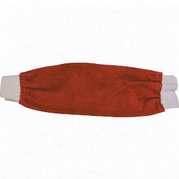 Kennedy Leather Welders Sleeves (pr) - Red - 18
