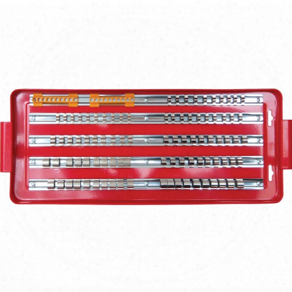 "Kennedy-pro Socket Rail Tray 1/4"",3/8"" & 1/2"" Sq. Dr. 110-pce"