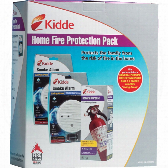 Kidde Home Fire Protection Pack