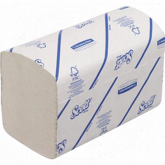 Kimberly Clark Professional 6669 Scott Xtra Hand Towels Med White (15 Sleeves)
