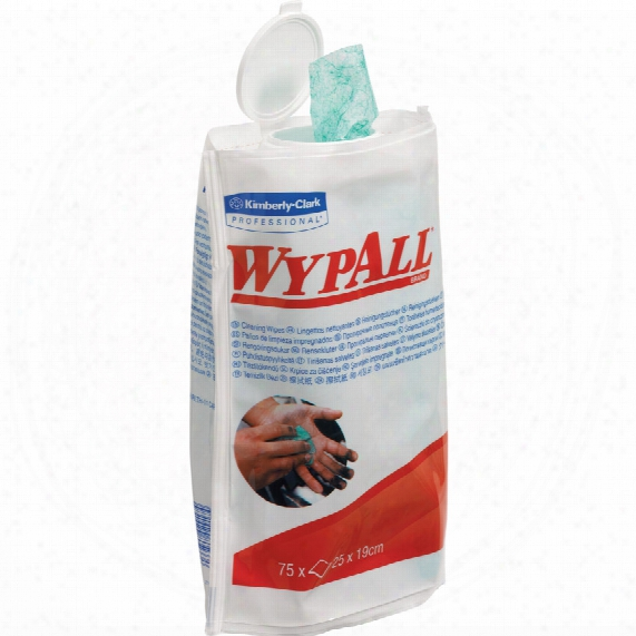 Kimberly Clark Professional 7781 Wypall Cleaning Wipes Flexican (tube-75)